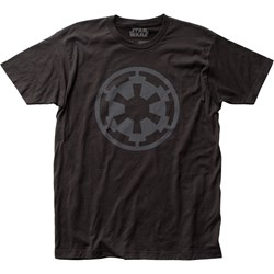 Star Wars - Unisex Empire Logo Fitted Jersey T-Shirt