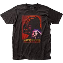 Star Wars - Unisex Revenge Poster Fitted Jersey T-Shirt