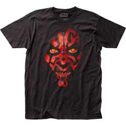 Star Wars - Unisex Darth Maul Fitted Jersey T-Shirt