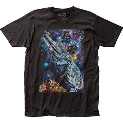 Star Wars - Unisex 1978 Japanese Poster Fitted Jersey T-Shirt