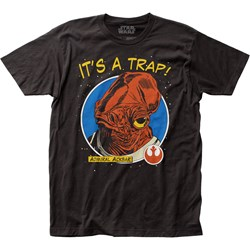 Star Wars - Unisex It'S A Trap! Fitted Jersey T-Shirt