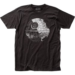 Star Wars - Unisex Death Star Fitted Jersey T-Shirt