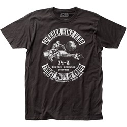 Star Wars - Unisex Speeder Bike Club Fitted Jersey T-Shirt