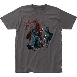 Venom - Unisex Carnage Vs. Fitted Jersey T-Shirt