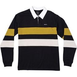 Rvca - Mens Johnsy Long Sleeve Polo T-Shirt