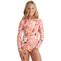 Billabong - Girls Petal Party Bodysuit Rashguard