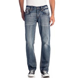 Rock Revival Mens Hern J212 Straight Jeans