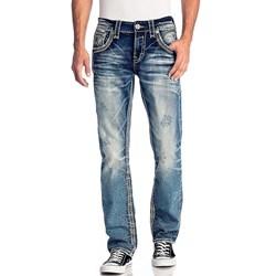 Rock Revival - Mens Jackee J202 Straight Jeans