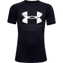 Under Armour - Boys Tech Hybrid Print Fill Logo T-Shirt