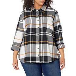 Dickies - Womens L/S Plaid Shirt