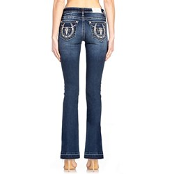 Miss Me - Womens Mid-Rise Chloe Slim Boot Jeans