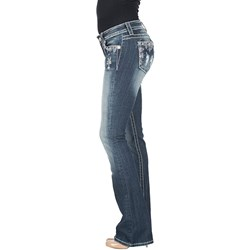 Miss Me - Womens Mid-Rise Chloe Boot Jeans