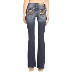 Miss Me - Womens Low-Rise Boot Jeans
