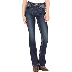 Miss Me - Womens Mid-Rise Chloe Slim Boot Jeans