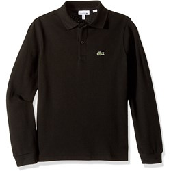 Lacoste Boys Long Sleeve Solid Polo