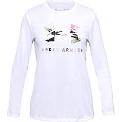 Under Armour - Girls Tech Graphic Big Logo Long-Sleeve T-Shirt