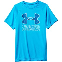 Under Armour - Boys Tech Hybrid Print Fill Logo T-Shirt