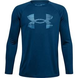 Under Armour - Boys Tech Logo Fill Long-Sleeve T-Shirt