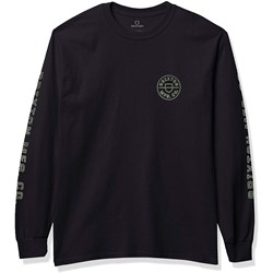 Brixton - Mens Crest Long Sleeve Standard T-Shirt