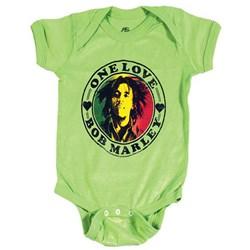 Bob Marley - Infants One Love Heart Creeper Onesie