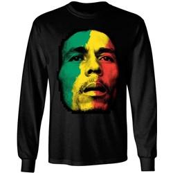 Bob Marley - Mens Paint Face Longsleeve T-Shirt