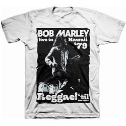Bob Marley - Mens Live In Hawaii Reggae T-Shirt