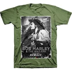 Bob Marley - Mens Hawaii Concert T-Shirt