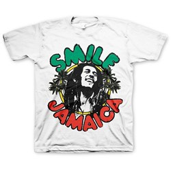 Bob Marley - Little Kids Smile Jamaica T-Shirt
