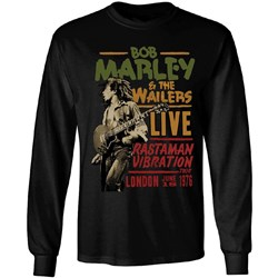 Bob Marley - Mens Lucky Live Longsleeve T-Shirt
