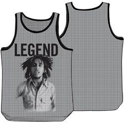 Bob Marley - Mens Legend Mesh Tank Top