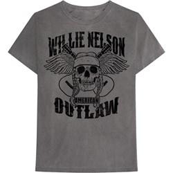 Willie Nelson - Mens Skull Willie T-Shirt