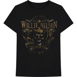 Willie Nelson - Mens Genuine Outlaw T-Shirt