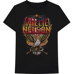 Willie Nelson - Mens Shotgun T-Shirt