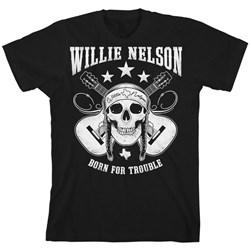 Willie Nelson - Mens Skull T-Shirt