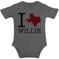 Willie Nelson - Infants I Heart Willie Onesie