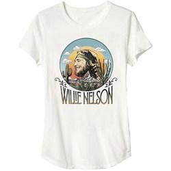 Willie Nelson - Mens Sunset Junior T-Shirt