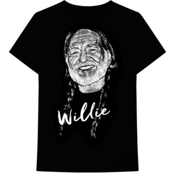 Willie Nelson - Mens Sketched T-Shirt