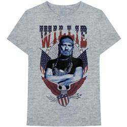 Willie Nelson - Mens Americana Eagle T-Shirt