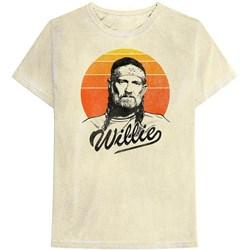 Willie Nelson - Mens Sunset Gradient T-Shirt