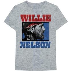 Willie Nelson - Mens Stare T-Shirt