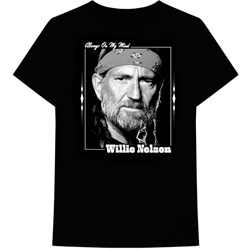 Willie Nelson - Mens On My Mind T-Shirt