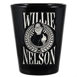 Willie Nelson - Unisex Willie Crest Shot Glass