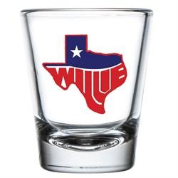 Willie Nelson - Unisex Willie Texas Shot Glass