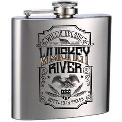 Willie Nelson - Unisex Willie Whiskey River Flask