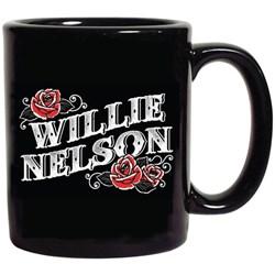 Willie Nelson - Unisex Willie Roses Mug