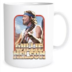 Willie Nelson - Unisex Willie Vintage Gold Mug
