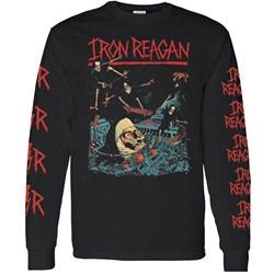 Iron Reagan - Mens Skating Nun Long Sleeve T-Shirt