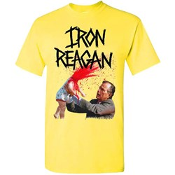 Iron Reagan - Mens Your Kids An Asshole Yellow T-Shirt
