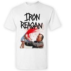 Iron Reagan - Mens Asshole Bush White T-Shirt