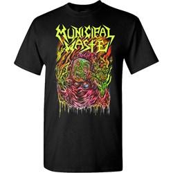 Municipal Waste - Mens Skinner Black T-Shirt